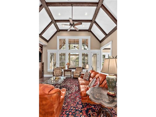 stylish lakefront living in Biltmore Lake luxury homes