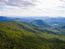 Long range views in Swannanoa luxury homes