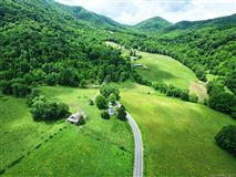 Rare large wooded land tract luxury properties
