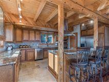 Luxury homes Beautiful white cedar log home in union mills