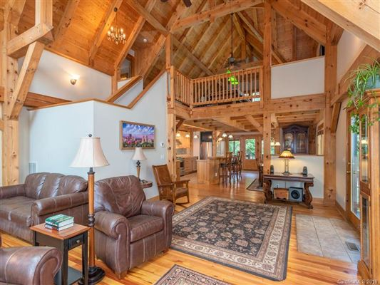 Exquisite timber frame home with dramatic long range views luxury real estate