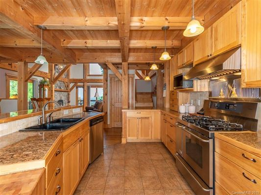 Luxury homes in Exquisite timber frame home with dramatic long range views
