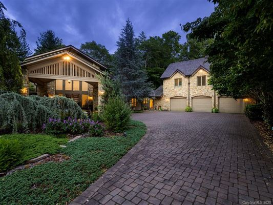 a sprawling four-acre estate luxury properties
