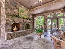 Luxury real estate spacious and luxurious home with mountain views