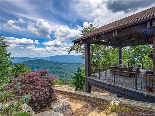 Luxury properties long range views of mt mitchell