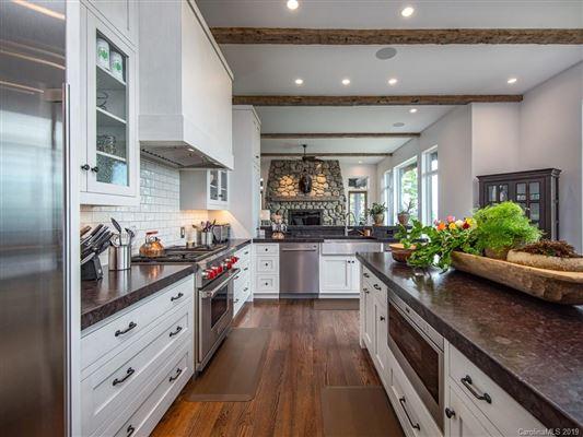 long range views of mt mitchell luxury properties