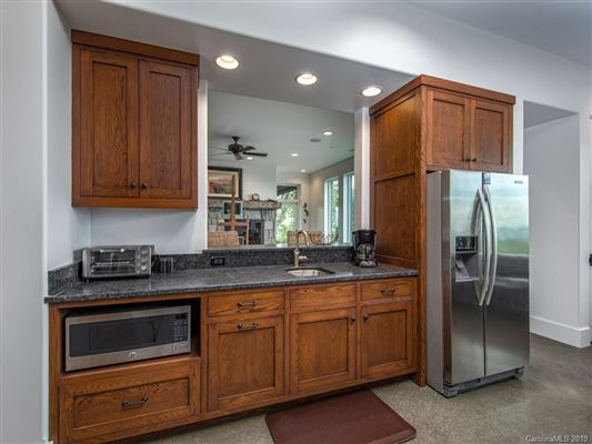 Luxury homes in long range views of mt mitchell