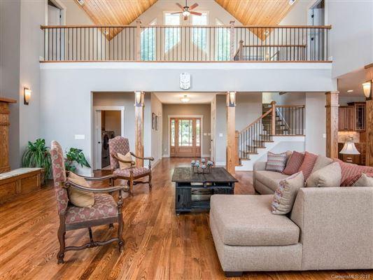 stunning custom home in asheville luxury homes