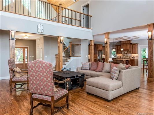 Luxury real estate  stunning custom home in asheville