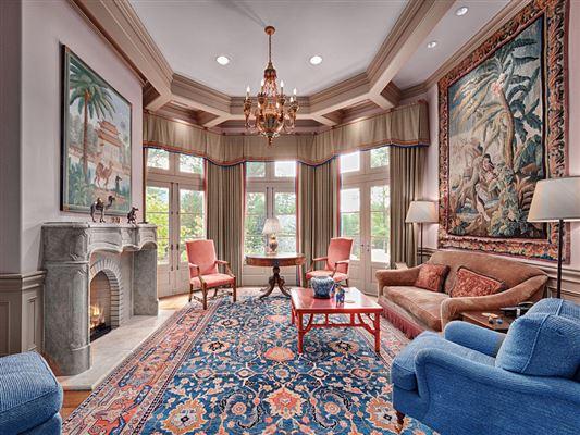 elegant French chateau  luxury homes