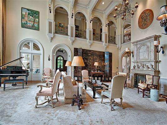 elegant French chateau  mansions