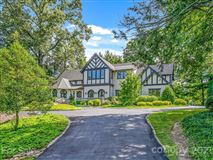 finely finished Tudor revival home mansions