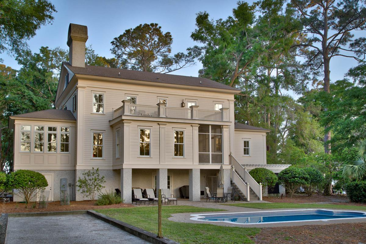 Luxury homes in Gorgeous Antebellum Style Haig Point Home