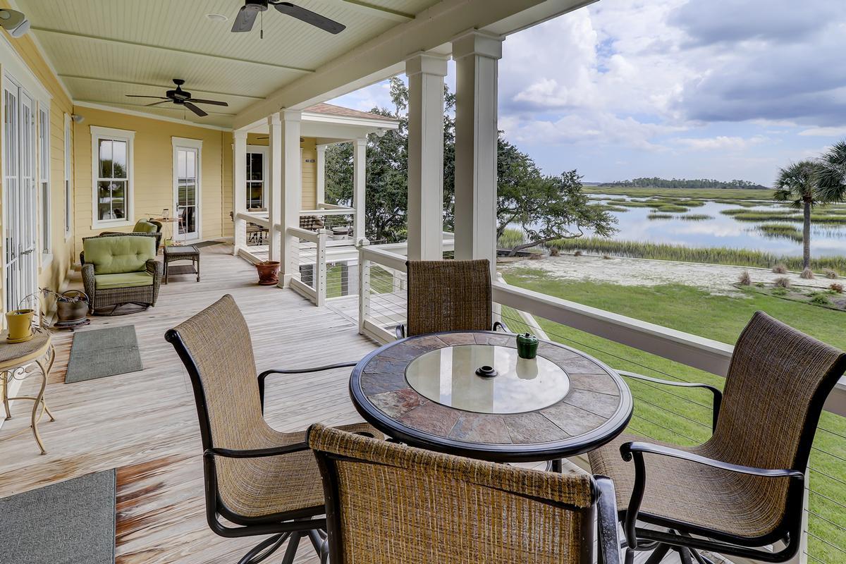 Waterfront MASTERPIECE ON KNOWLES ISLAND, SC luxury properties