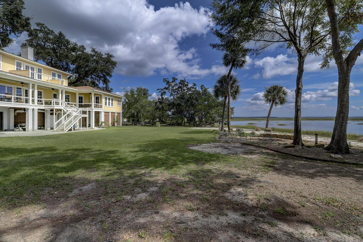 Waterfront MASTERPIECE ON KNOWLES ISLAND, SC luxury real estate