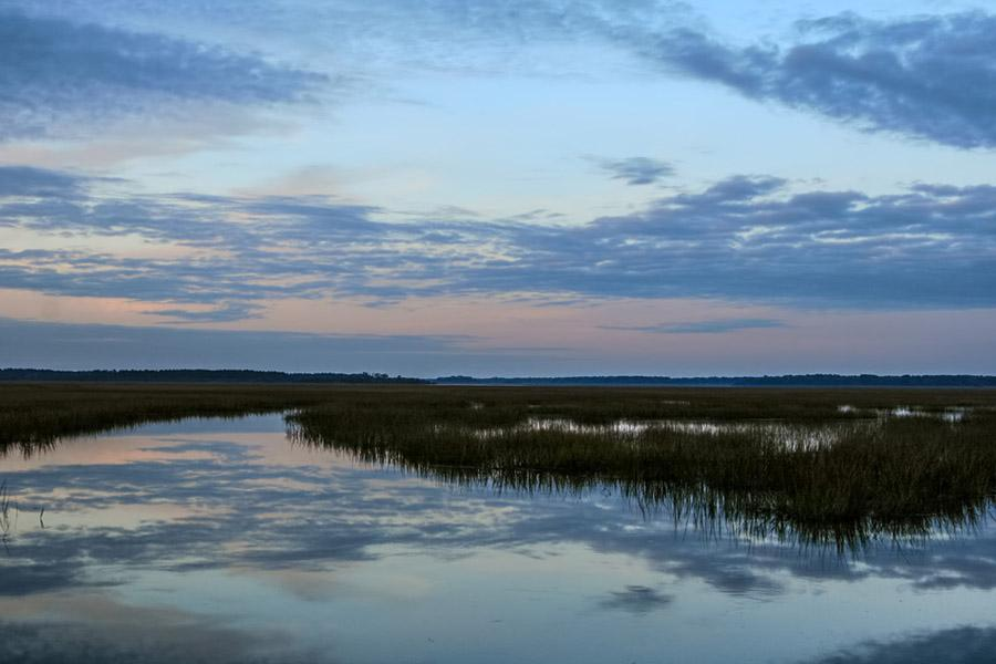 Luxury real estate Waterfront MASTERPIECE ON KNOWLES ISLAND, SC