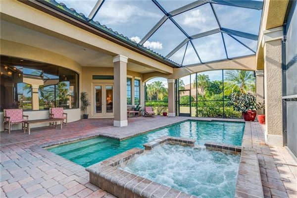 Tuscan Inspired Former Model Home Florida Luxury Homes