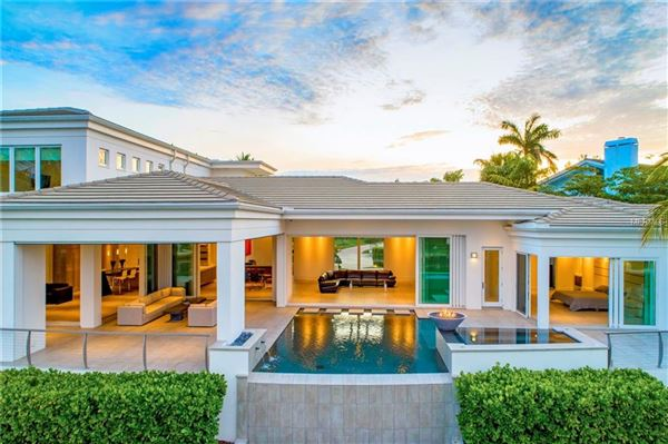 Luxury homes extraordinary custom home in Bay Isles on Longboat Key