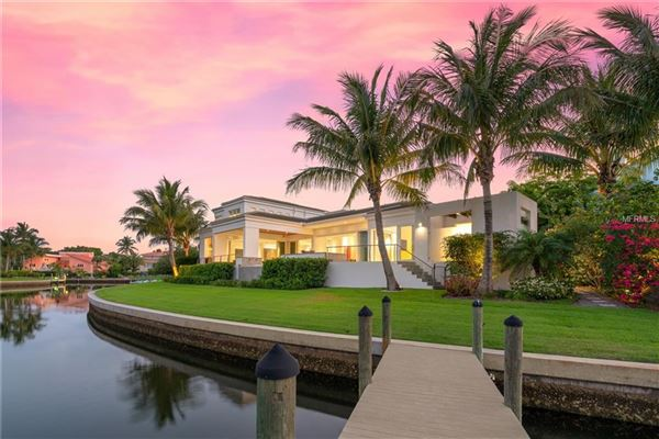 extraordinary custom home in Bay Isles on Longboat Key luxury real estate