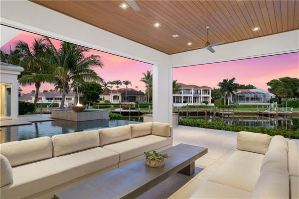 extraordinary custom home in Bay Isles on Longboat Key mansions