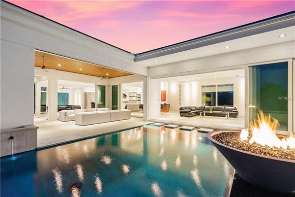 Luxury homes in extraordinary custom home in Bay Isles on Longboat Key