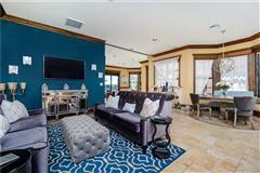 Luxury properties custom Mediterranean-style waterfront residence