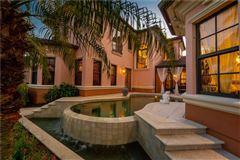 Luxury homes custom Mediterranean-style waterfront residence