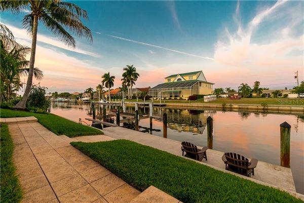 custom Mediterranean-style waterfront residence luxury homes