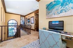 Luxury homes in custom Mediterranean-style waterfront residence