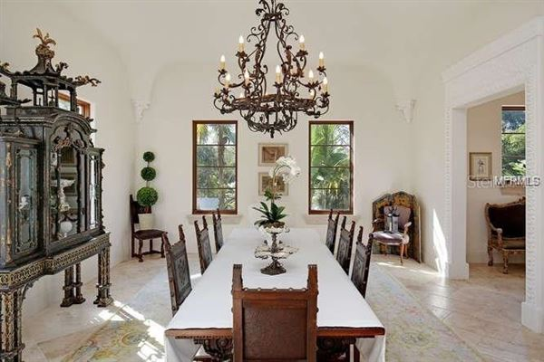 Luxury homes in sun-soaked palm beach estate