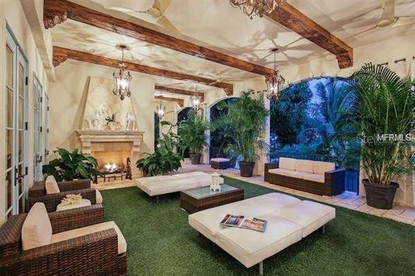 Luxury homes sun-soaked palm beach estate