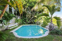 Mansions sun-soaked palm beach estate