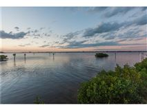 Luxury homes waterfront lot in the reserve