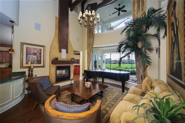 Luxury properties a serene lake home in bradenton