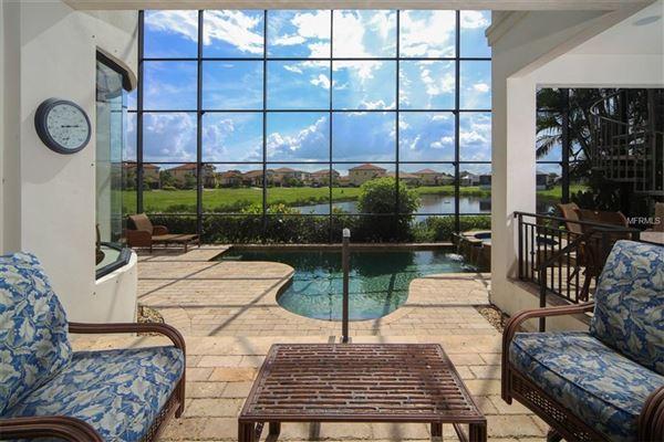 Luxury real estate a serene lake home in bradenton