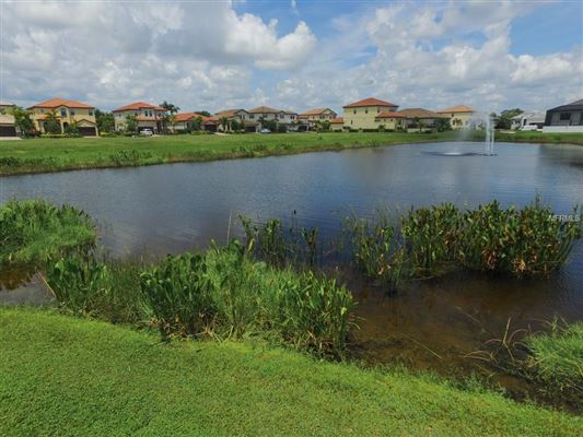 Luxury homes in a serene lake home in bradenton