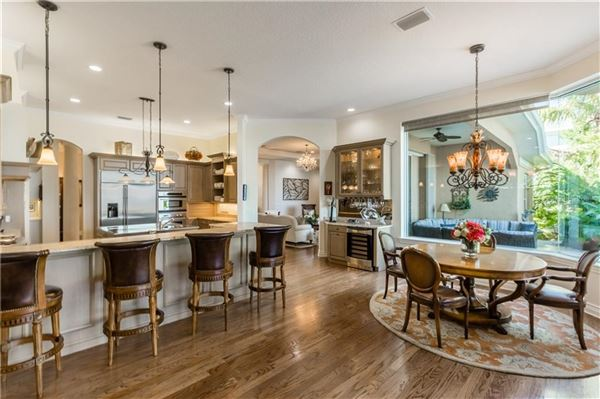Luxury homes in private riverfront estate
