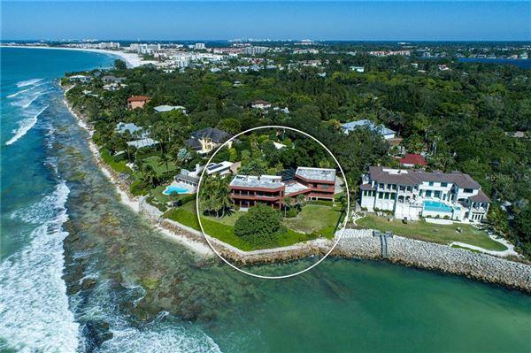 Luxury homes landmark gulf-front property