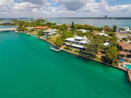 Luxury real estate stunning waterfront location