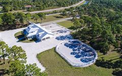 Mansions in 14 acre property with custom Horse Stable