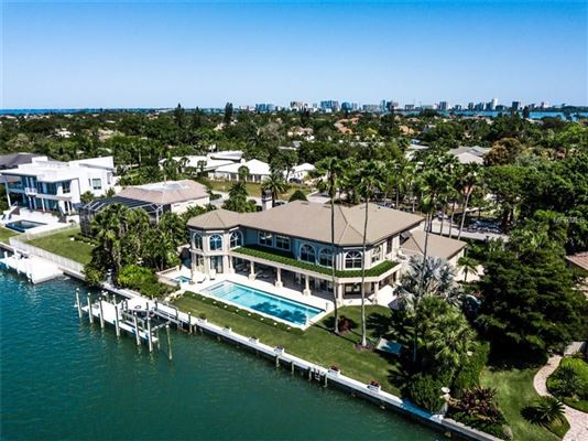 incredibly elegant bayfront estate  luxury real estate