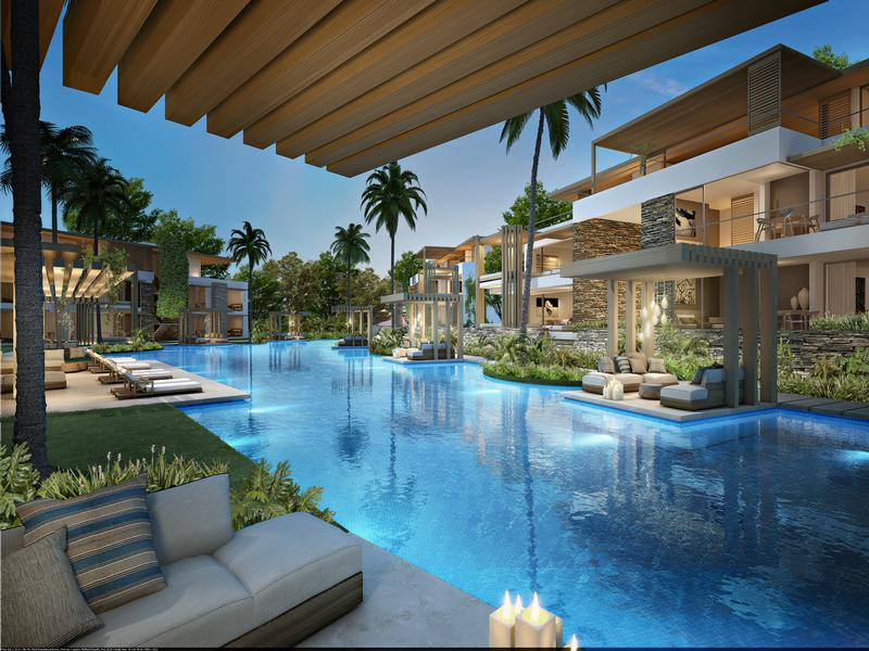 Beautiful Apartment With Golf And Pool Views Mauritius
