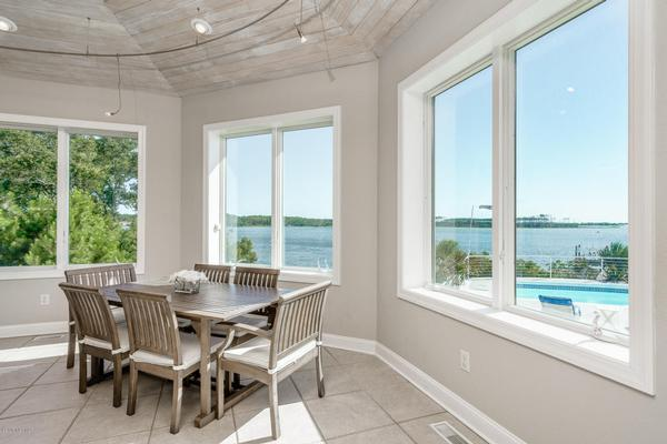 Mansions Beaufort Area Direct Waterfront Property