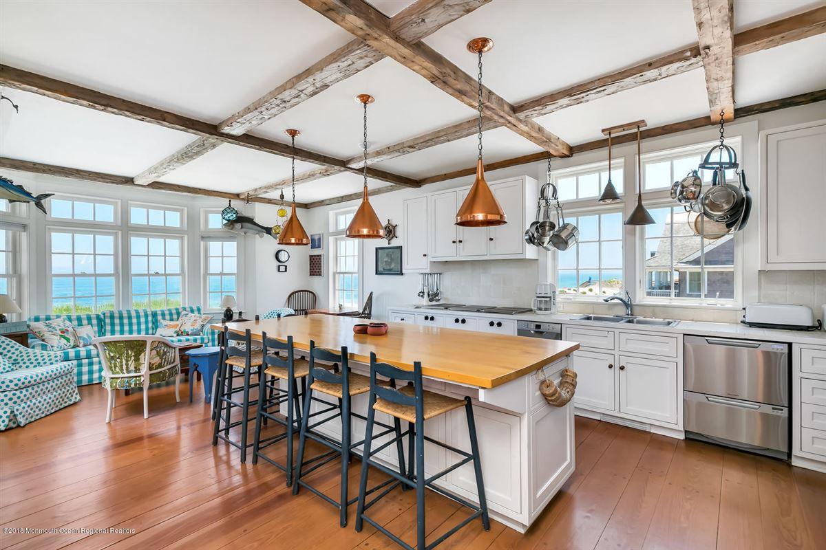 Luxury real estate captivating Mantoloking oceanfront retreat