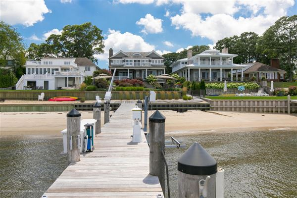 Mansions in Exquisite riverfront home with spectacular views