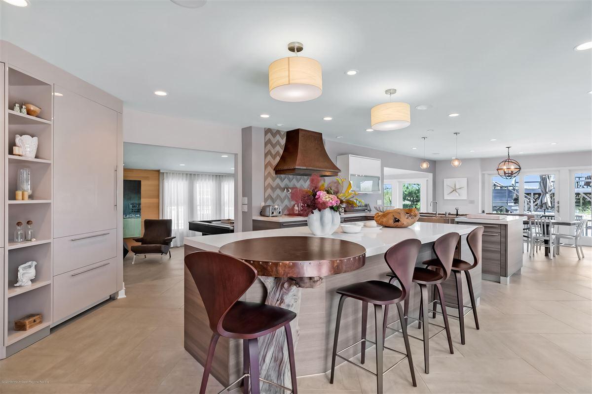 rare turn-key Bay Head oceanfront haven luxury homes