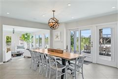 Luxury real estate rare turn-key Bay Head oceanfront haven