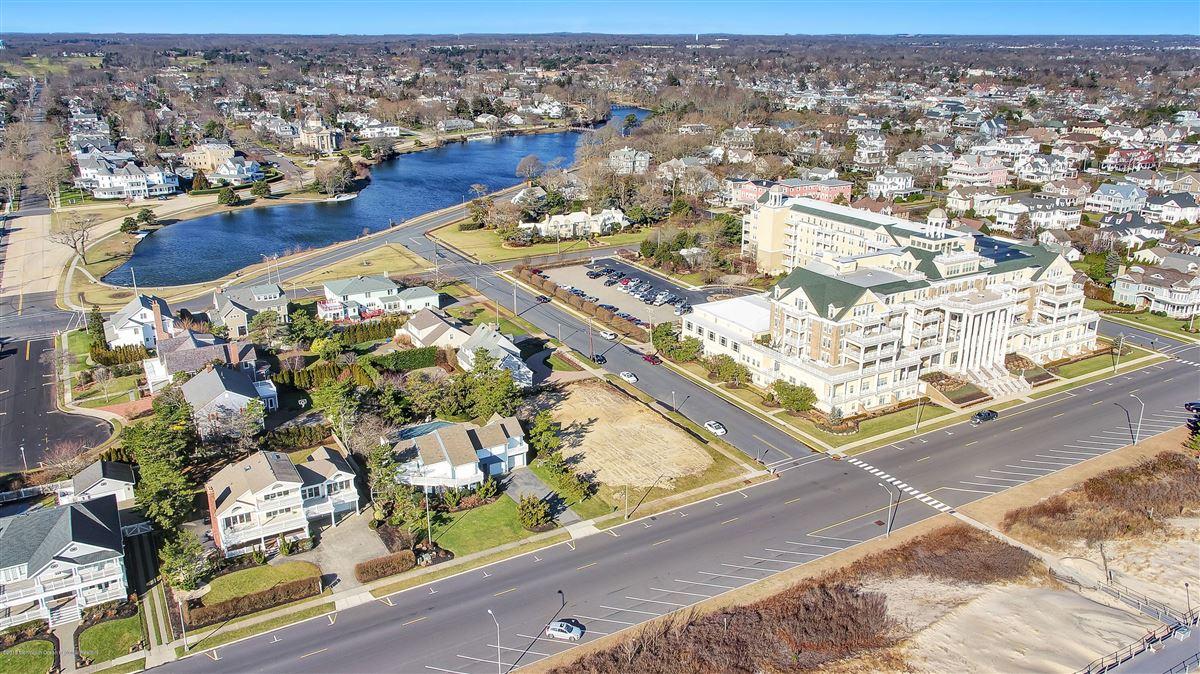 Luxury homes Spring Lake ocean avenue lot