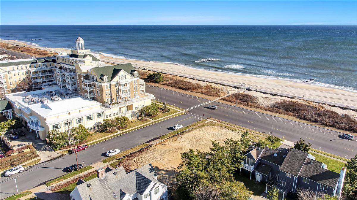 Luxury properties Spring Lake ocean avenue lot