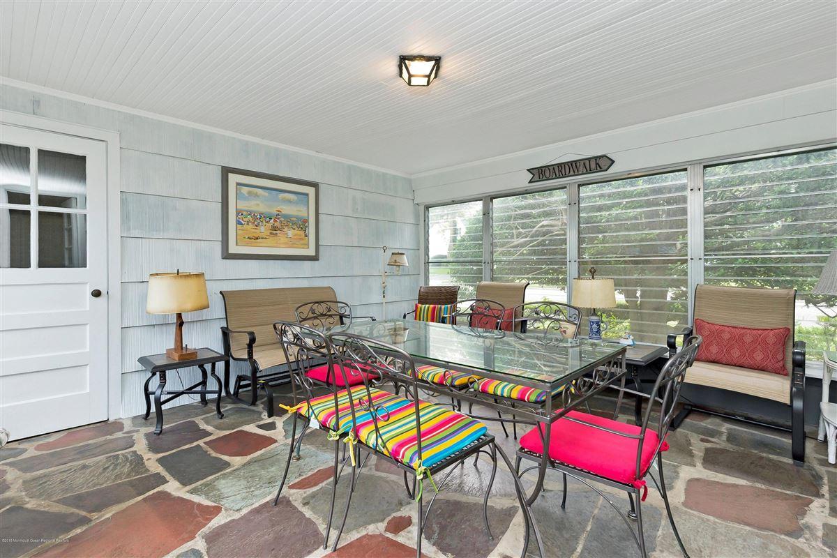 Corner double lot in beautiful Sea Girt luxury properties